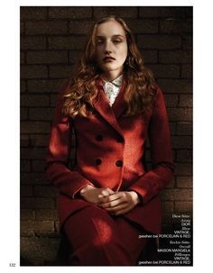 Fashion Copious - Agnes Nieske by Daniel King for Interview Germany September 2015