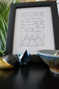 Instant Download C.S. Lewis Mountains Print / by oaxacaborn