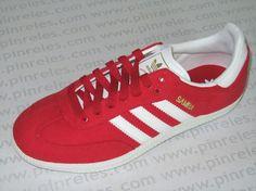 Adidas Originals Samba roja  Antes: 69,90 €  Ahora: 39,90 €