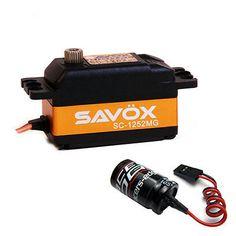 Servos and Servo Accessories 56615: Savox Sc-1252Mg Low Profile Super Speed Metal Gear Digital Servo + Glitch Buster -> BUY IT NOW ONLY: $59.99 on eBay!