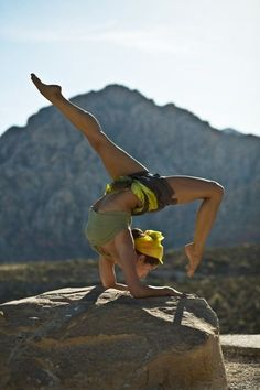Kathryn Budig Yoga Challenge Pose: Scorpion in Forearm Balance