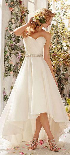 wedding dresses, nice option for beach wedding