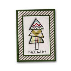 Peace Joy Christmas Tree Tag