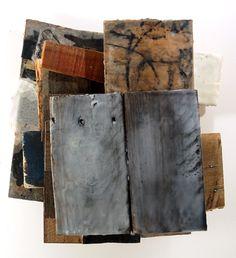 Reflective Inventions2012Wood, Encaustic Collagraph, Encaustic,   Acrylic15 x 13 x 7 Jeffrey Hirst