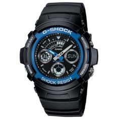 Casio G-Shock AW-591-2A Resin Band Watch Black Gents Watches 6ca8a2e59b