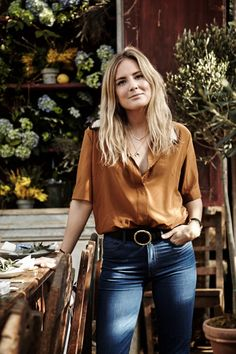 Lucy Williams | Aerin Lunch - 70s inspired blonde