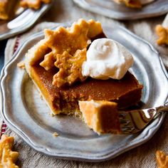 Pumpkin pie to feed a crowd!! All butter pie crust and creamy spiced pumpkin pie filling with a secret ingredient!