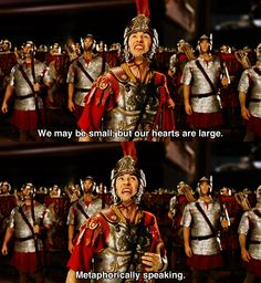 We may be small ~ Night at the Museum (2006) ~ Movie Quotes #amusementphile