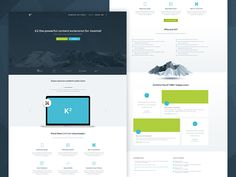 K2 - Joomla Homepage Early Wireframes by Balkan Brothers