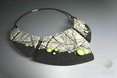 Threads Neckpiece - by Bettina Welker