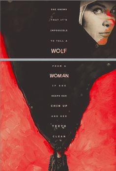 - She knows that it's impossible to tell a wolf from a woman if she keeps her chin up and her teeth clean - / Abbadon