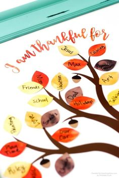 FREE Thanksgiving Thankful Tree Printable - I Heart Naptime This FREE Printable Thankful Tree is the perfect activity for Thanksgiving this year. Get your whole family to participate in this fun and easy craft! Thanksgiving with Kids Thanksgiving Crafts For Toddlers, Thanksgiving Tree, Free Thanksgiving Printables, Thanksgiving Traditions, Thanksgiving Decorations, Thanksgiving Cookies, Holiday Traditions, Thanksgiving Placemats, Fall Crafts