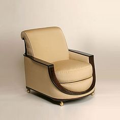 Art Deco Chair Emile Jacques Ruhlmann 1930