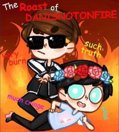 Dan's Diss Track-The ROAST of danisnotonfire