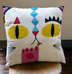Lili Scratchy cushion