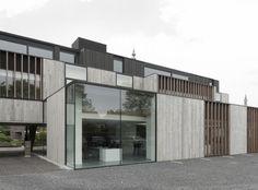 Office Solvas in Zomergem, Belgium by Graux & Baeyens Architecten
