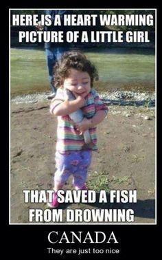 Saved a fish from drowning