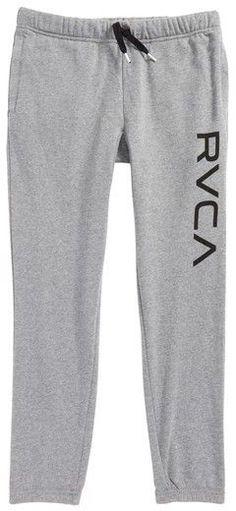RVCA Boy s Big Logo Sweatpants Big Boys dee90fea58e