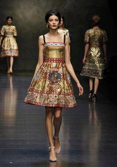 Dolce e Gabbana aw 2014
