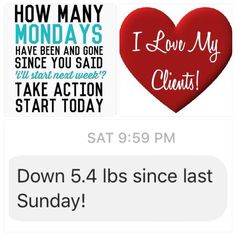 I was so thrilled to wake up to this message from a new #valentus client. I just knew she'd have success with our All Natural products. All she had to do was make the decision to try. Don't procrastinate any longer...start changing your life today! www.valentusweightloss.com