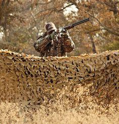 Camouflage Netting Duck Blind Tree Stand Skirt Atv
