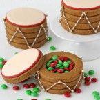 Lleno de caramelo Galletas tambor - por Treats Gloriosos