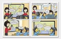 educational comic strips - Google Search