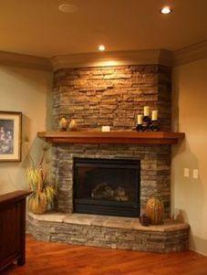 65 simple fireplace décor ideas on budget (58)