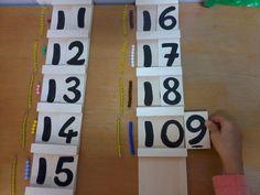 En classe avec Montessori: Table de Seguin n°1