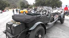 This Bentley has a Rolls-Royce Meteor tank engine which were derived from the Merlin engine used in the Spitfire airplanes. Rolls Royce Motor Cars, Car In The World, Car Ins, Antique Cars, Vehicles, Jay, Old Cars, Vintage Cars, Rolling Stock