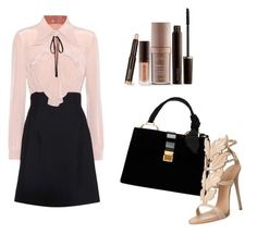 """""""Luxuous Looks for Marjorie"""" by prettyliarxs on Polyvore featuring Miu Miu, Giuseppe Zanotti and Laura Mercier"""