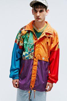 Vintage One-Of-A-Kind '80s K-Way Jacket http://uoeur.pe/uorenewal #UrbanOutfitters #Vintage