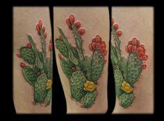 prickly pear Tattoos » Annie Mess