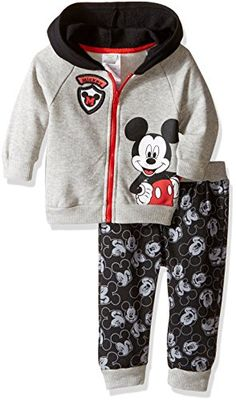 Nautica Baby Boys/' Quilted Fleece Baseball Sweater Tee and Knit Jogger Set