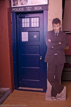 The TARDIS Room in Portland, OR. Dress up, go here, and do Tuesday night Doctor Who Trivia. Beautiful. I'll be moving to Portland now.