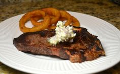 ATK Plain steak with compound butter From My Year Cooking with Chris Kimball America's Test Kitchen Cookbook, Kitchen Recipes, Cooks Illustrated Recipes, Compound Butter, Americas Test Kitchen, Food Obsession, Dinner Tonight, Bon Appetit, Food To Make