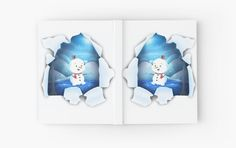 Shop Tear It! ~ Snowbaby Line designed by We~Ivy. My Themes, Website Themes, Beach Towel, Ivy, Journals, Snowman, Frozen, My Arts, Xmas