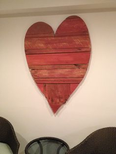 Barn wood heart