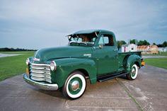 The Chevrolet Pickup Vintage Pickup Trucks, Classic Pickup Trucks, Antique Trucks, Antique Cars, 54 Chevy Truck, Chevy Diesel Trucks, 1955 Chevrolet, Chevrolet Trucks, Chevrolet Impala
