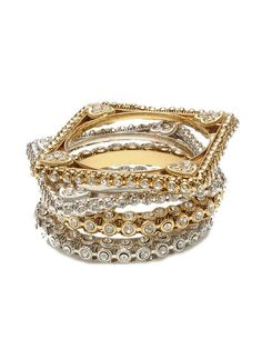 Noor Bangle Set by Amrita Singh on Gilt