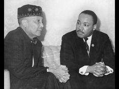 Elijah Muhammad and Martin Luther King