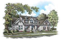 Home Plan The Callaway by Donald A. Gardner Architects