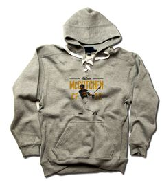 Andrew McCutchen MLBPA Officially Licensed Pittsburgh Men's LACE Hoodie S-3XL Andrew McCutchen Position Y