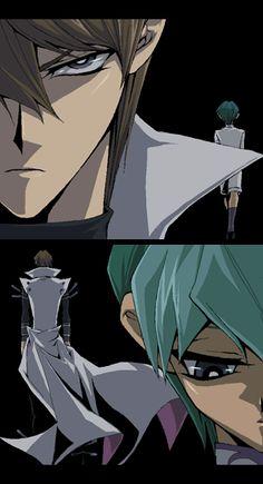 Noah and Seto Kaiba