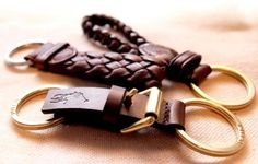PRL Leather Key Chains