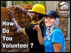 How do you volunteer?