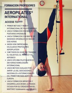 AEROPILATES ® FORMACION PROFESORES PILATES AEREO , cursosaeropilates.com