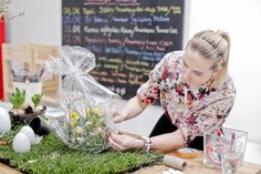 Easter decor workshop