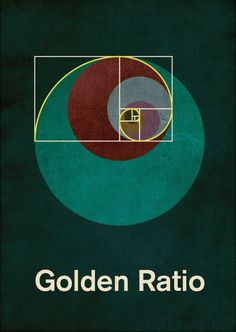 GOLDEN RATION. A number found by dividing a line into two parts so that the longer part divided by the smaller part is also equal to the whole length divided by the longer part. Also found in nature.