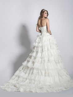 - Ball Gown Sweetheart Lace Wedding Dress - Ophelia Contessa White on White White Wedding Dresses, Lace Wedding, Bride Gowns, Getting Married, Ball Gowns, Collection, Fashion, Bridal Dresses, Fitted Prom Dresses